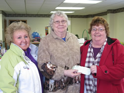 Pat give HHPR donation
